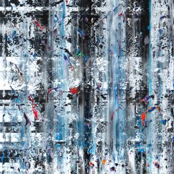 stanley casselman 183 x 147cm Acrylic on canvas