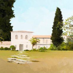Assaf Shani, Untitled V2, acrylic on canvas, 50x60 cm