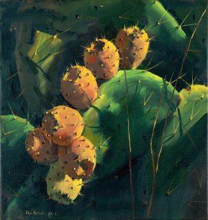 Ilan Baruch _Sabres_2019_oil on canvas_40x36cm